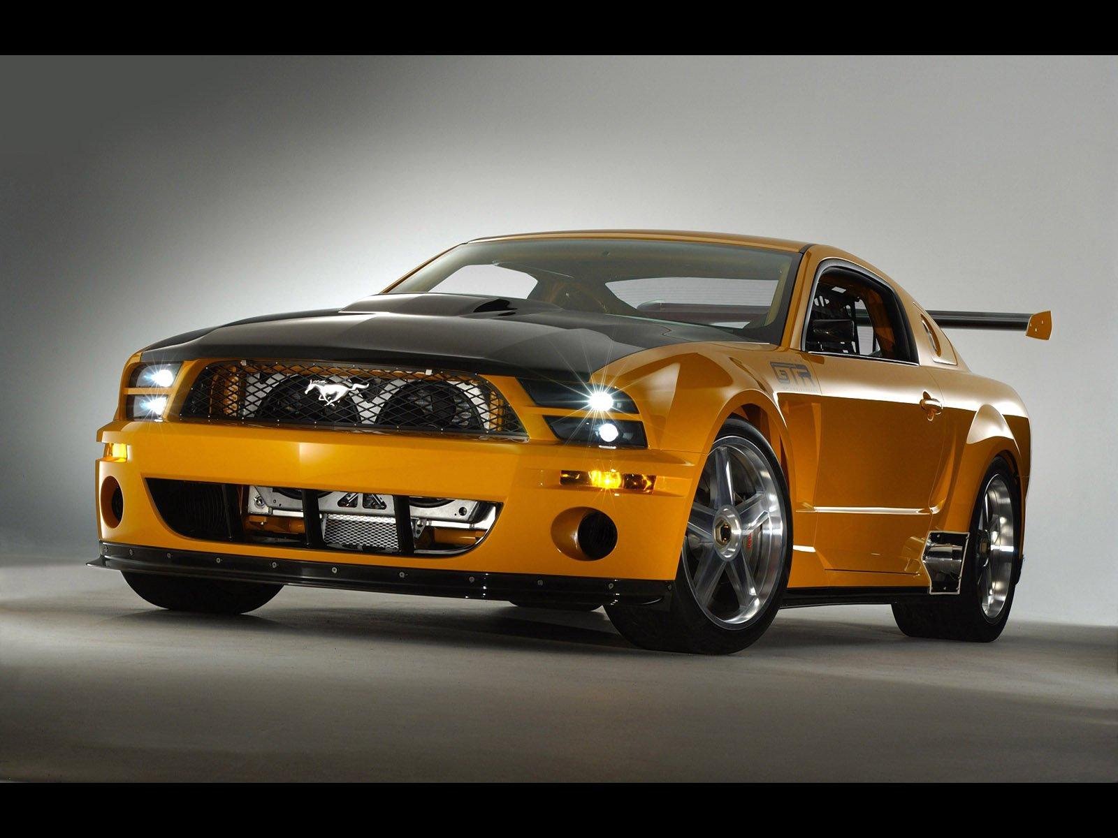 Ford Mustang GTR Concept Desktop Wallpaper