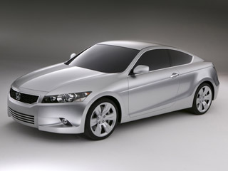 Download free Honda screensaver- Honda Accord Coupe Concept (2008)