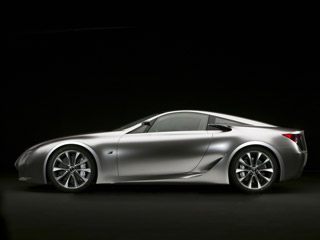 Download free Lexus screensaver- Lexus LF-A Concept (2007)