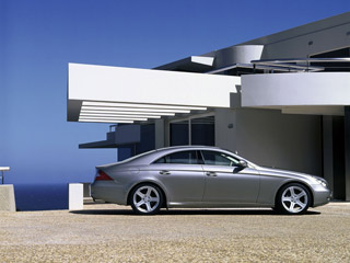 Download free Mercedes screensaver- Mercedes Benz CLS Class