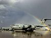 After the Downpour, Moron Air Base, Spain Wallpaper