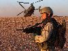 Security Duty, CH-47 Chinook Helicopter, Iraq Wallpaper